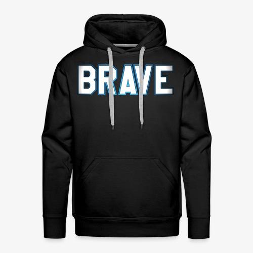 Brave Men's Hoodie - Men's Premium Hoodie
