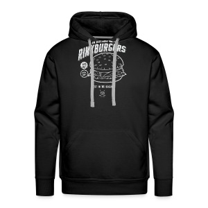 Just Here For the Rinkburgers - Men's Premium Hoodie