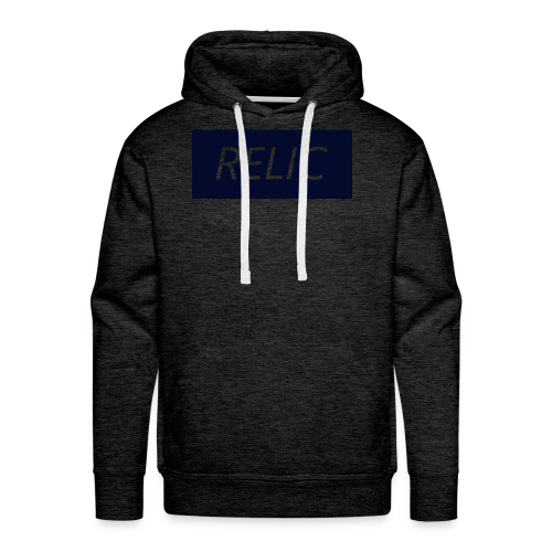 Relic Box Logo Navy Sweatshirt - Men's Premium Hoodie