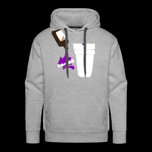 Purp Edition Hoodie (Grey) - Men's Premium Hoodie