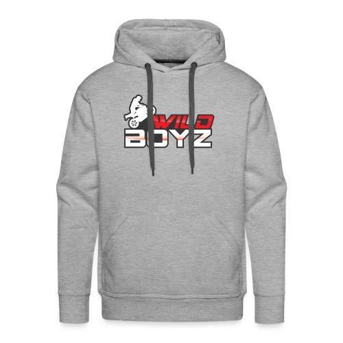 Men's WildBoyz Grey Hoodie - Men's Premium Hoodie