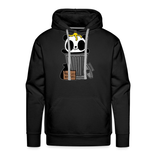 Trash with Benefits Hoodies - Men's Premium Hoodie