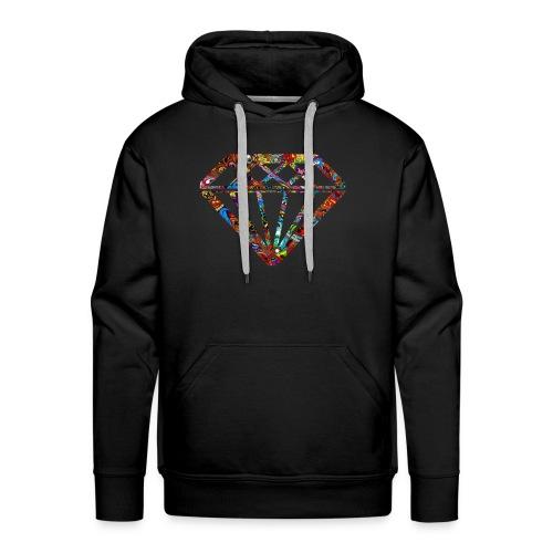 Trippy Diamond - Men's Premium Hoodie