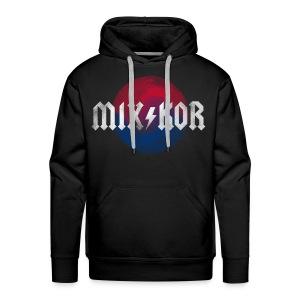 MIX KOR ROK Men's/Unisex Hoodie - Black - Men's Premium Hoodie