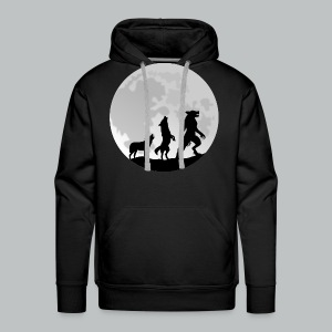 Werewolf Transformation - Men's - Men's Premium Hoodie