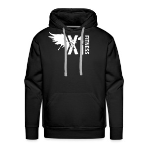 Men's X1 Fitness Sweatshirt, Black - Men's Premium Hoodie