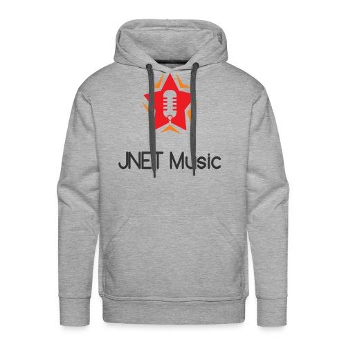 JNET Music Staff Hoodie - PREMIUM MENS - Men's Premium Hoodie