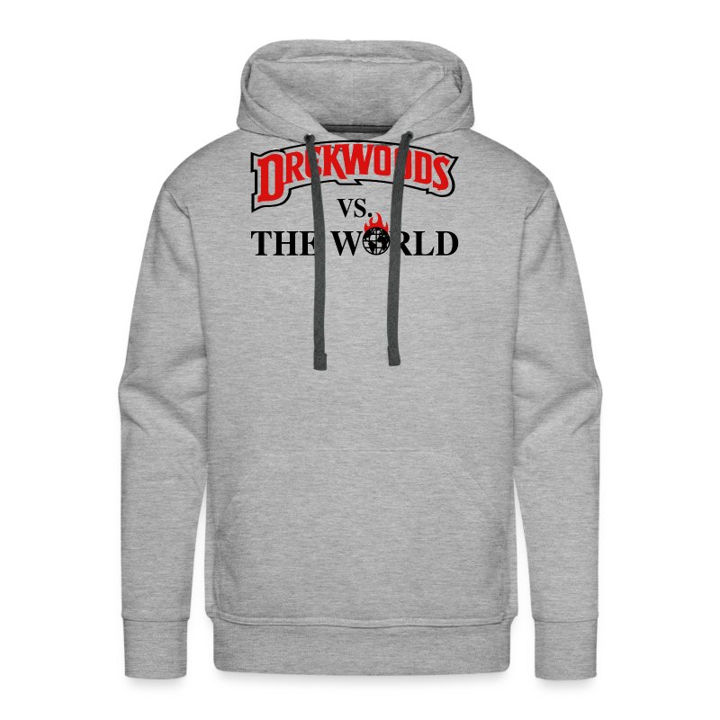 Drek Woods vs Da World - Men's Premium Hoodie
