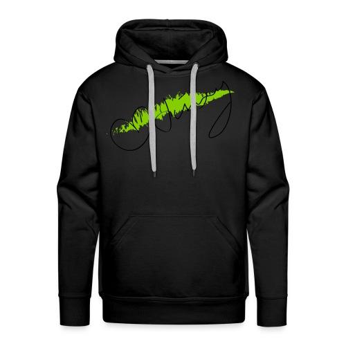 Jinxy Doll Sweatshirt -Green Swipe - Men's Premium Hoodie