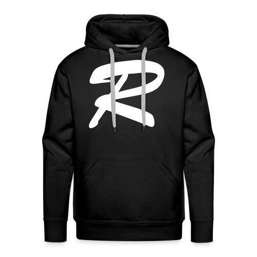 """""""R"""" - men's hoodie 1 - Men's Premium Hoodie"""