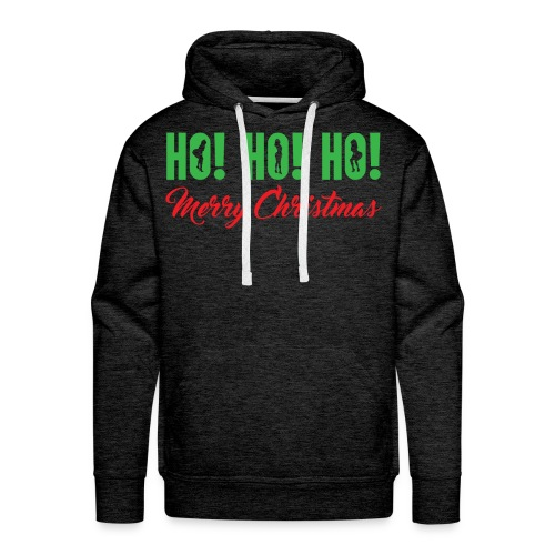 Ho! Ho! Ho! Merry Christmas - Men's Premium Hoodie
