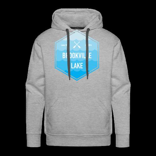 Boat Brookville Lake - Men's Premium Hoodie