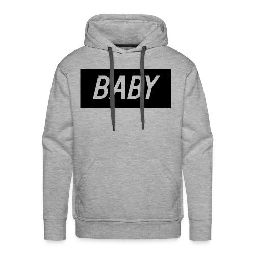 Official BabyDonut Men's hoodie (Grey) - Men's Premium Hoodie