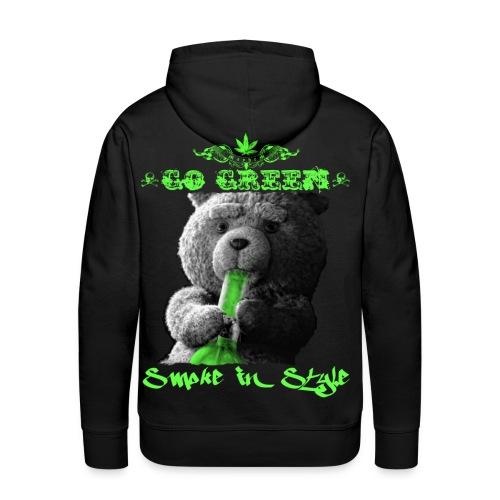 Go Green 2 - Men's Premium Hoodie