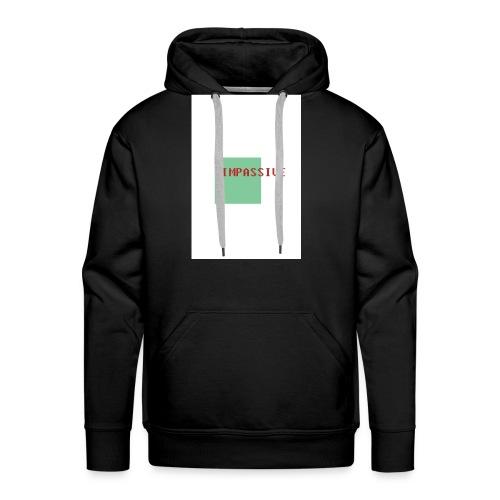 Impassive classic hoodie - Men's Premium Hoodie