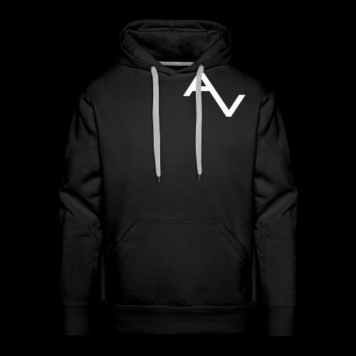 AV Originals White Men's Premium Hoodie - Men's Premium Hoodie