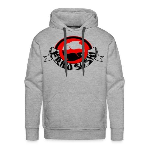 fried sushi logo hoodie - Men's Premium Hoodie