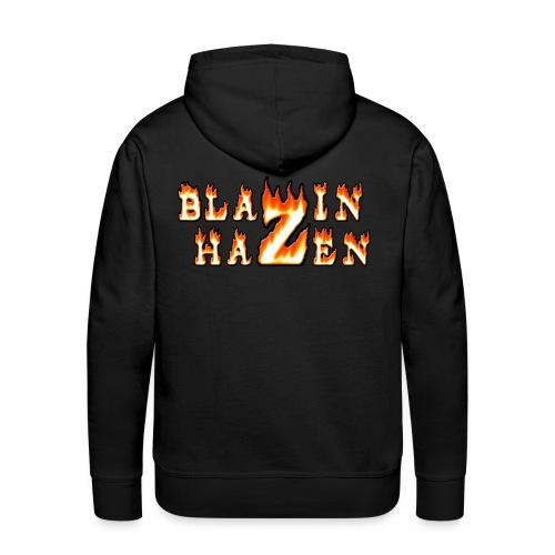 Blazin Hazen Hoodie - Men's Premium Hoodie
