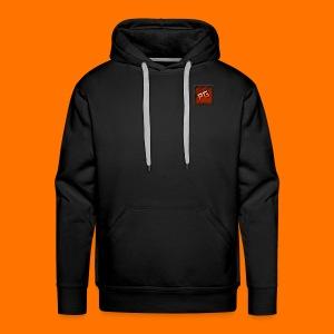 Pharmaceutical Gaming Logo Men's Black Hoodie - Men's Premium Hoodie