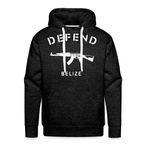 Defend Belize Hoodie - Men's Premium Hoodie