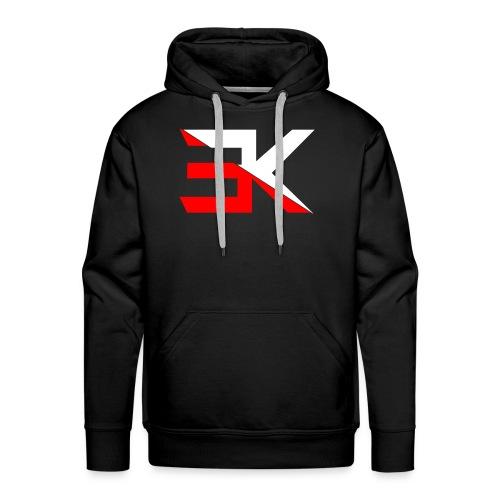 Equal Kingdom Black and Red Hoodie - Men's Premium Hoodie