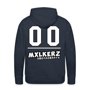 Mxlkerz #00 Hoodie - Men's Premium Hoodie