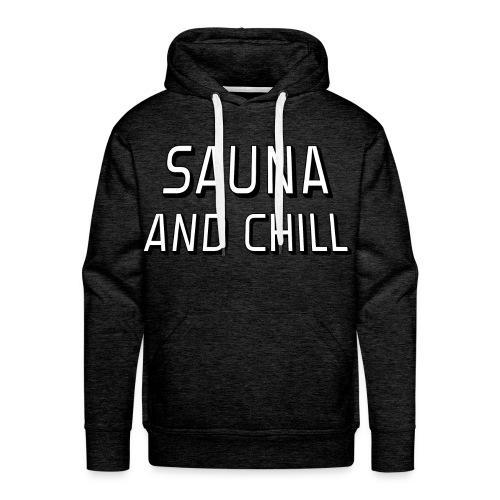 DS - Sauna & Chill (HM) - Men's Premium Hoodie