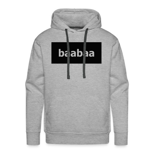 baabaa men hooddie - Men's Premium Hoodie