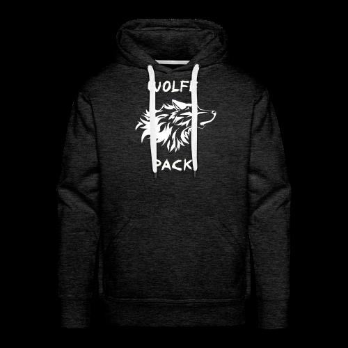 Wolfe Pack Hoodie (No Zipper) - Men's Premium Hoodie