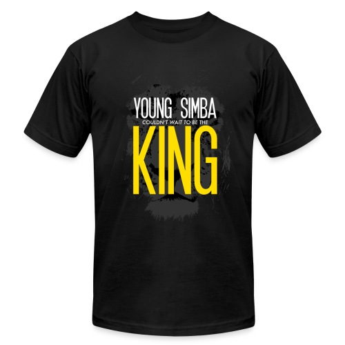 Young Simba American Apparel T-Shirt - Men's Fine Jersey T-Shirt