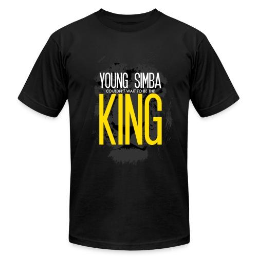 Young Simba American Apparel T-Shirt - Men's  Jersey T-Shirt