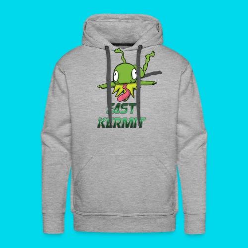 Fast Kermit logo sweat shirt - Men's Premium Hoodie