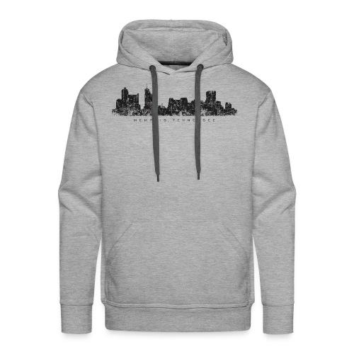 Memphis, Tennessee Skyline Vintage Black