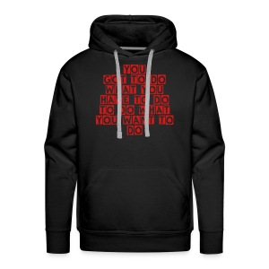The sweat shirt of thruth - Men's Premium Hoodie