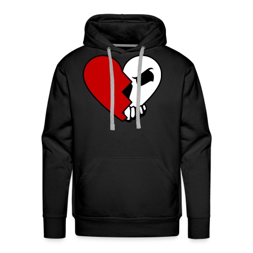"""the Head & the Heart"" Classic Series Hoodie - Men's Premium Hoodie"