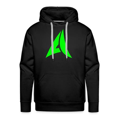 Neon Green Hoodie - Men's Premium Hoodie