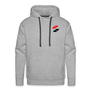 GS fin on front simple - Men's Premium Hoodie