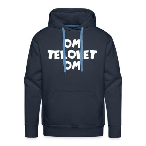 OM TELOLET OM 1 - Black Sweater - Men's Premium Hoodie