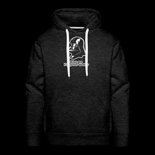 Darth Vader Kiss Me Hoodies - Men's Premium Hoodie