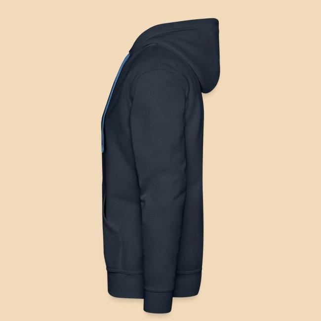 rockhound men's navy blue hoodie