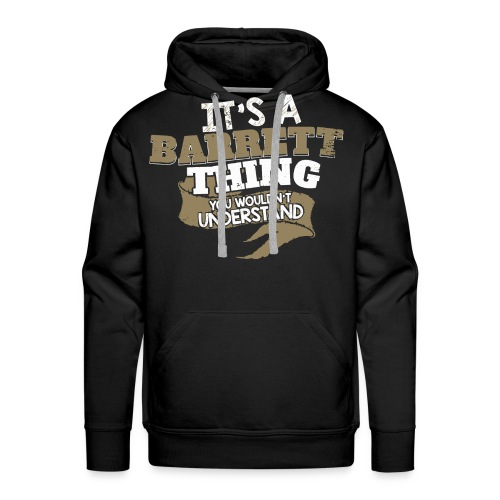 Barrett Thing - Men's Premium Hoodie