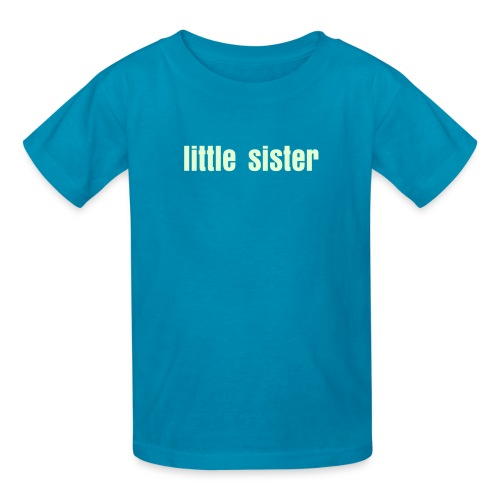 little sister youth tee - Kids' T-Shirt