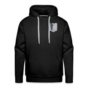 شعار فرقة الاستطلاع - Men's Premium Hoodie