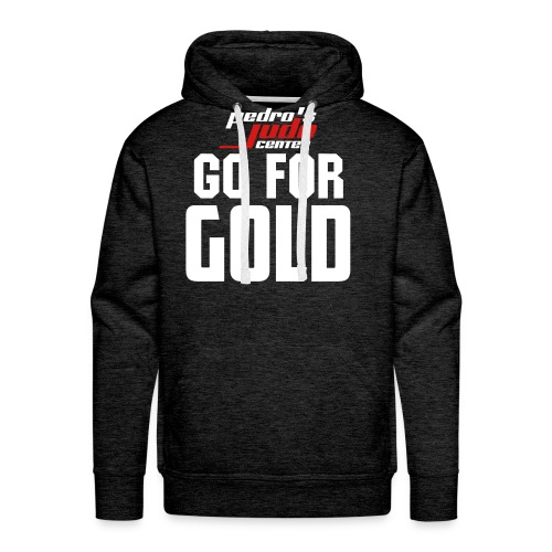 Go For Gold Pull Over Hoodie (ADULT) - Men's Premium Hoodie