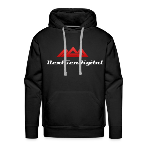 NextGenDigital Men's Hoddie *Beta Design* - Men's Premium Hoodie