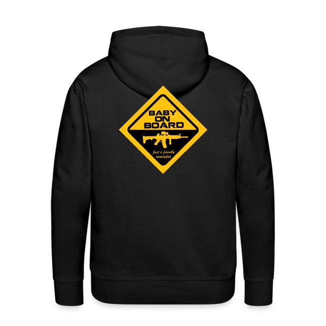 CAUTION: Baby on Board Hoodie