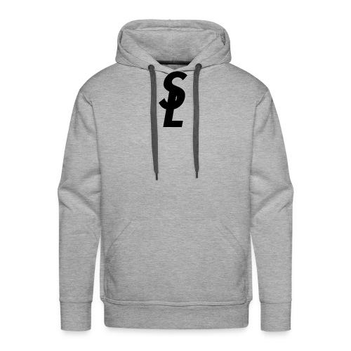 Mens Stay Lxgical. Logo Multi-colored hoodie. - Men's Premium Hoodie