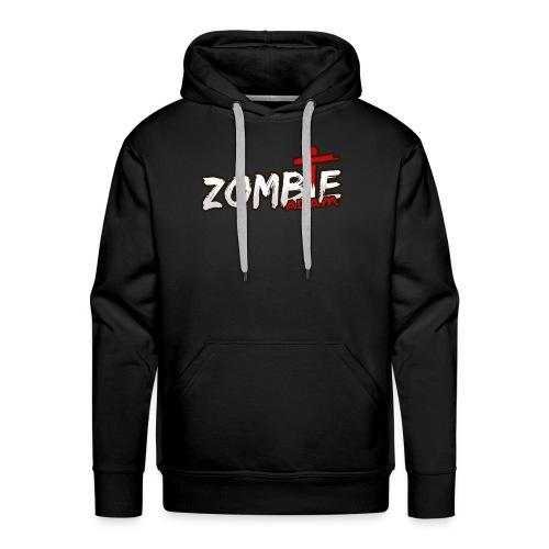 ZombieAdam Hoodie Cross - Men's Premium Hoodie