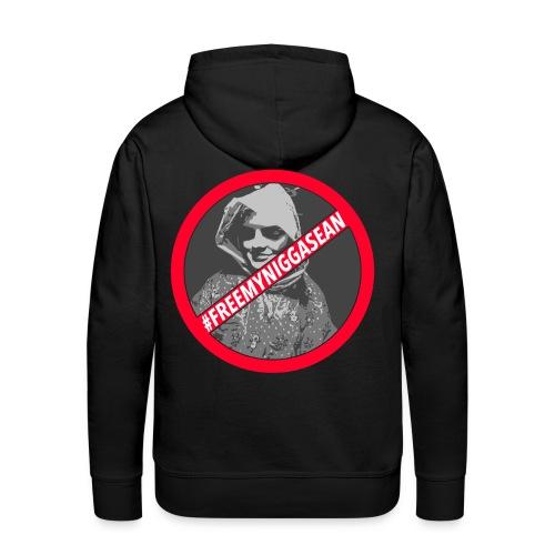 #FREESEAN Hoodie Black - Men's Premium Hoodie
