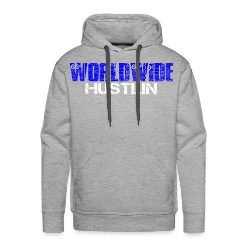 WORLDWIDE HUSTLIN - Men's Premium Hoodie